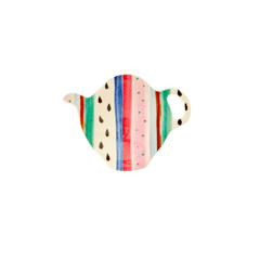 Rice DK | Melamine Tea Bag Plate Believe in Red Lipstick'