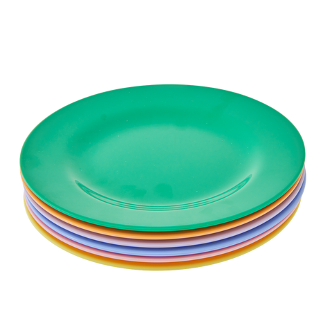 Rice DK | Melamine Assorted 'Lets Summer' Lunch Plates