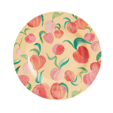 Rice DK Peach Two Tone Melamine Lunch Plate