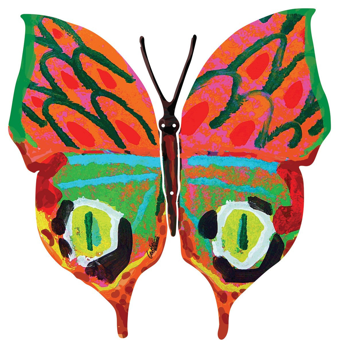 Merav Butterfly Sculpture