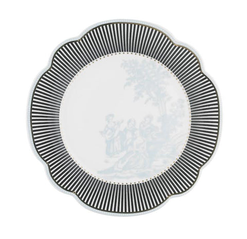 Lisbeth Dahl | Black Stripes Side Plate