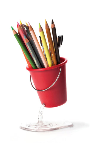 Peleg Design I DESK BUCKET Whole in the bucket