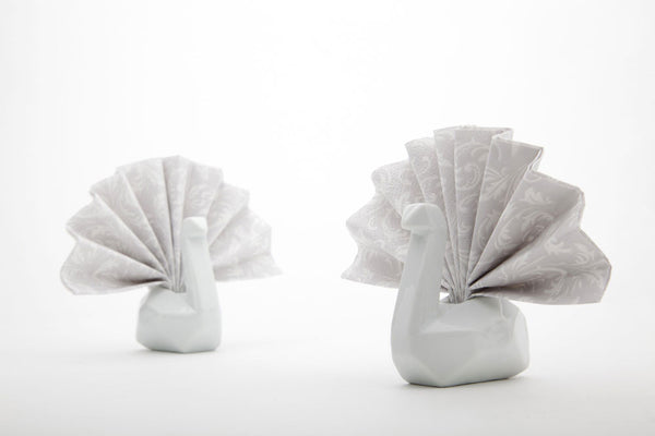 Peleg Design | Napkin Swan Holders