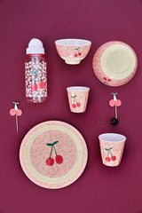 Rice DK Small Flowers and Cherry Print Melamine Cup