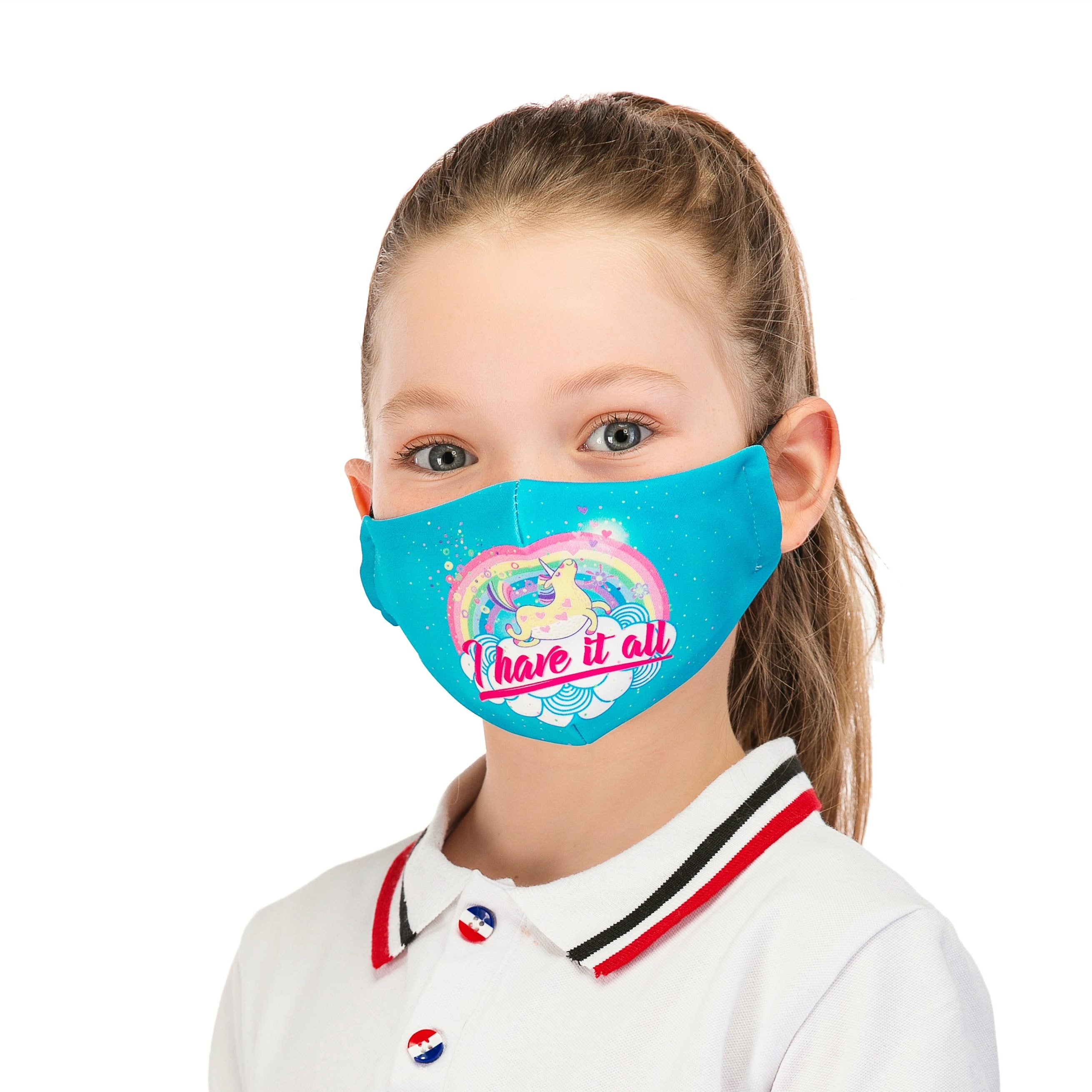 Autumn Print Washable Mouth Mask + 2 Protective PM2.5 Filters
