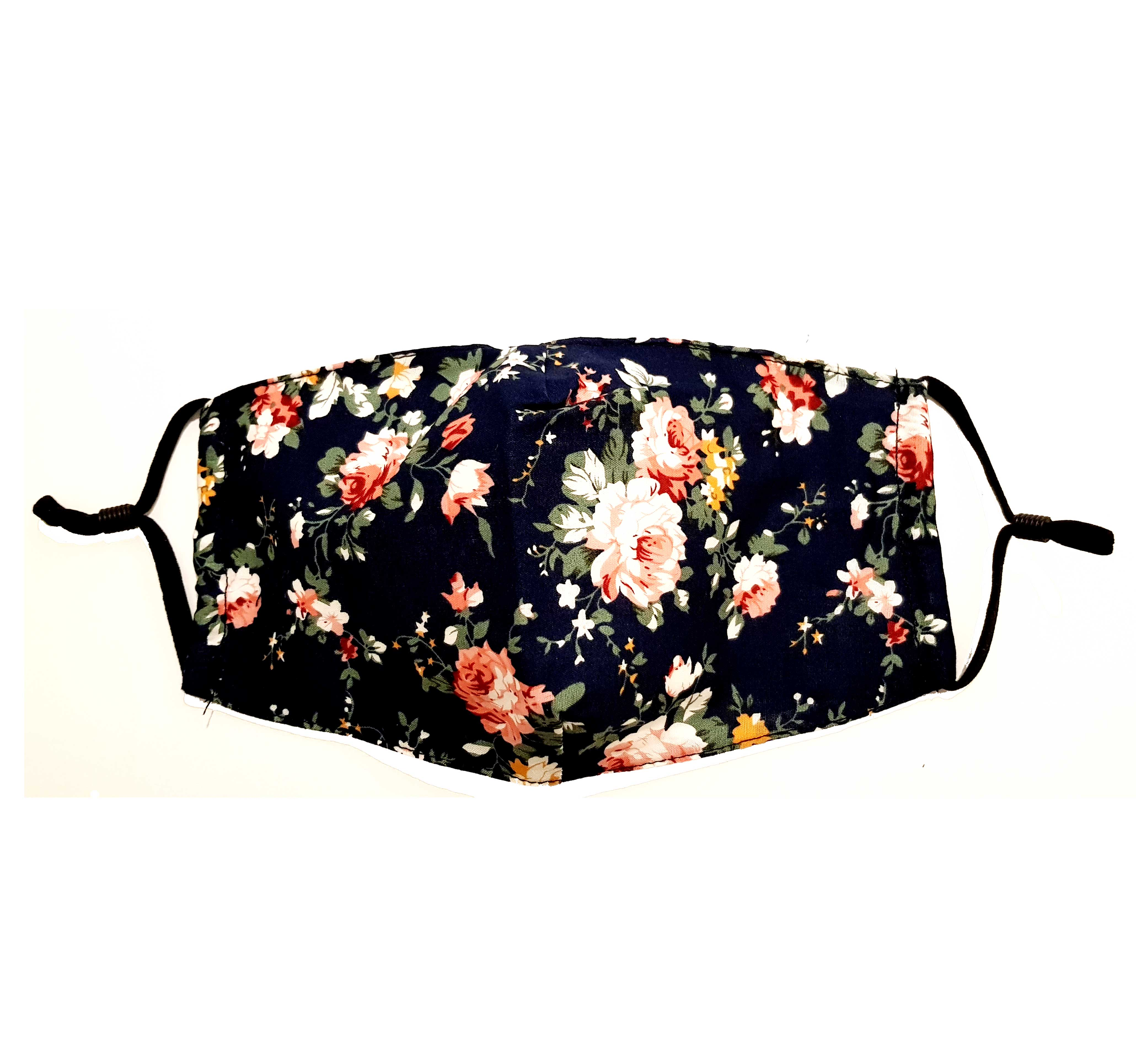 Flower Showers Print Washable Mouth Mask + 2 Protective PM 2.5 Filters