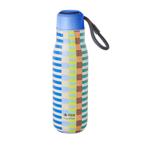 Rice DK Blue Green Stainless Steel Drinking Bottle