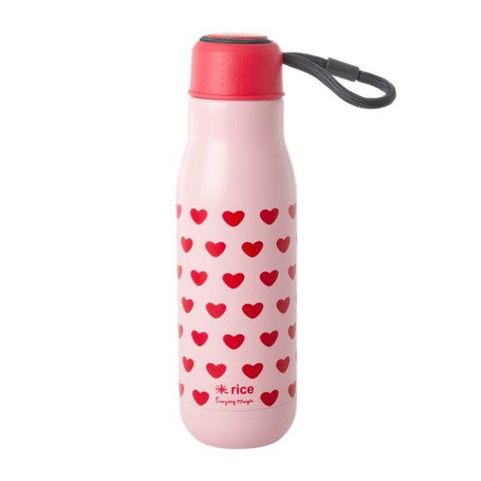 Rice DK Sweet Hearts Stainless Steel Drinking Bottle