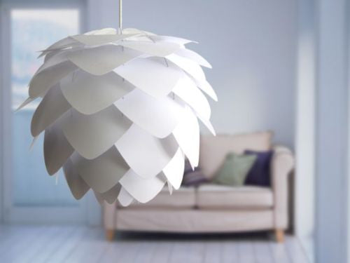 Vita Lighting | Silvia White Pendant Shade