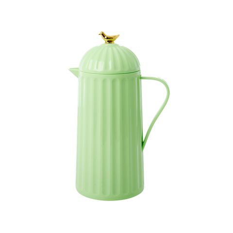 Rice DK Melamine Pastel Green Thermo with Gold Bird 1L.