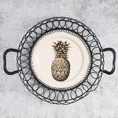 Temerity Jones | Pineapple Wire Plate