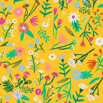 Kitsch Kitchen | Flowerfield Print Oilcloth