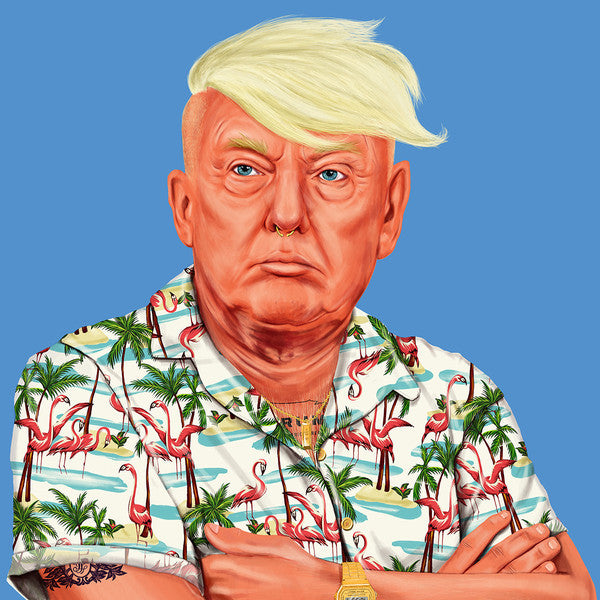 Hipstory | Donald Trump Wall Poster