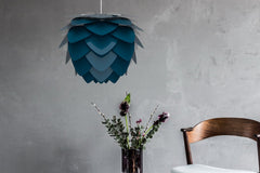 Umage Lighting | Large Petrol blue Aluminum Pendant Shade