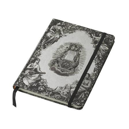 Lisbeth Dahl | Large Silver Antique Notebook