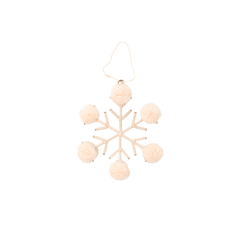 Rice Dk Christmas Snowflake Decorations