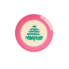 Rice DK Melamine Desert plates with Christmas Tree- PREORDER