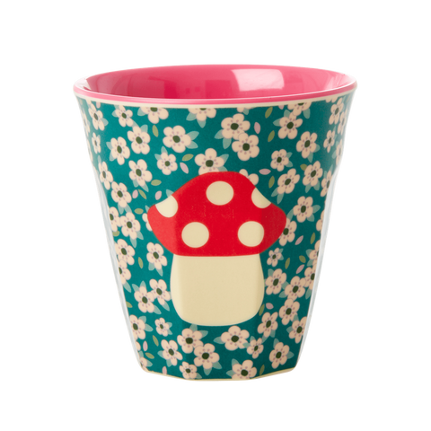 Rice DK Melamine Cups with Christmas Mushroom - PREORDER