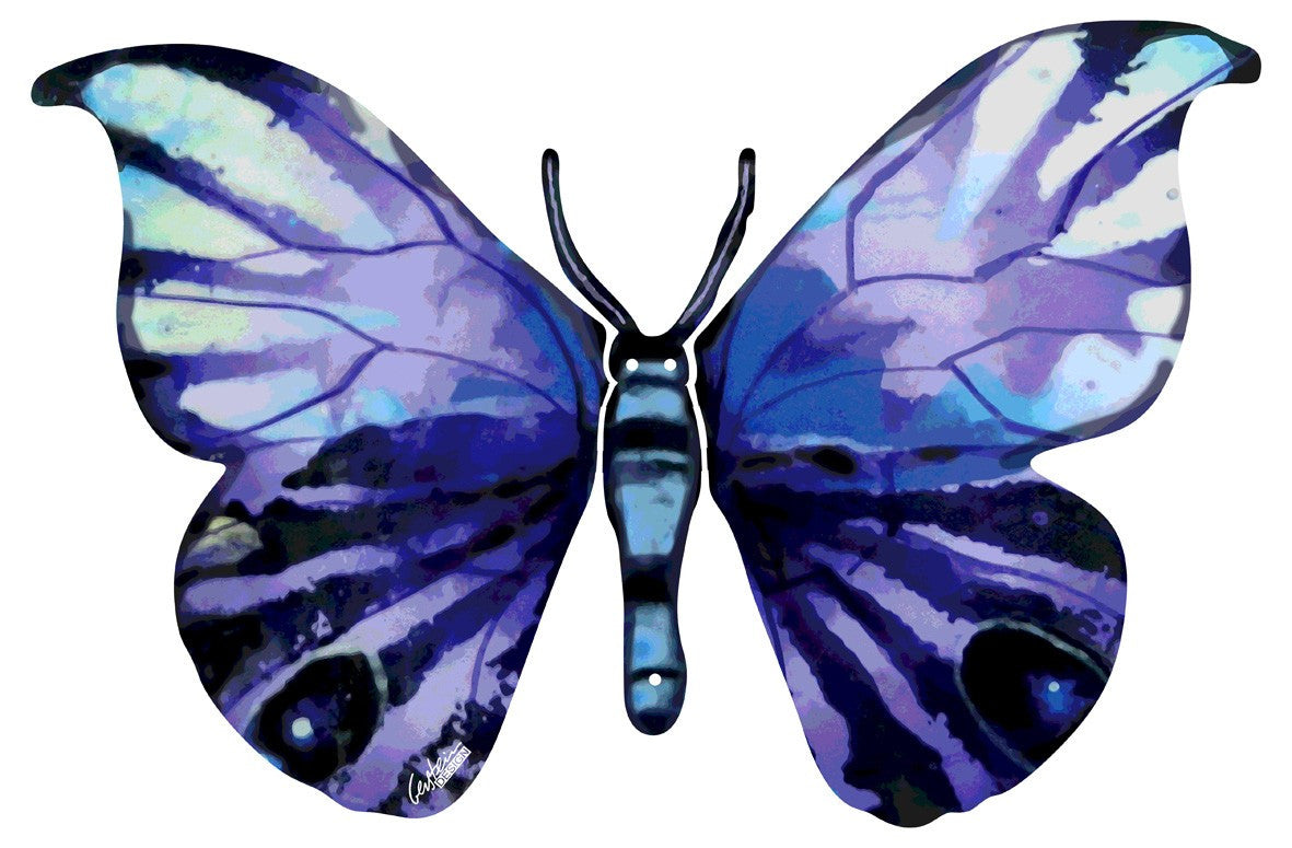 Yafa butterfly scuplture side B