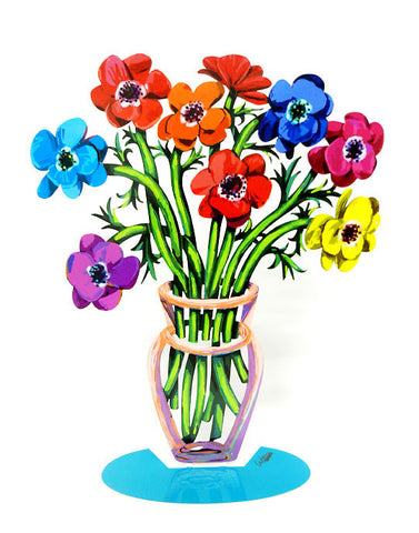David Gerstein | Poppies Vase - Small