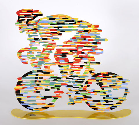 David Gerstein | Armstrong - Bicycle Riders by David Gerstein | BellaKoola