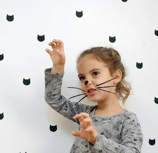Tayo Studio | Black Cat Wall Stickers