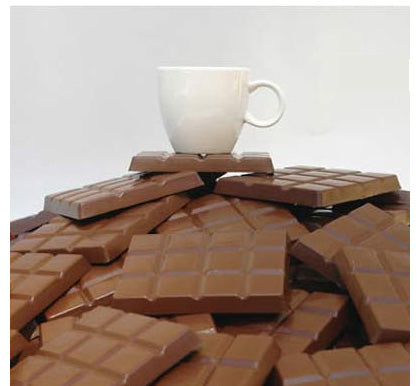 Artori Design | Chocolate Coasters