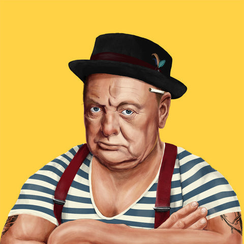 Hipstory | Winston Churchill