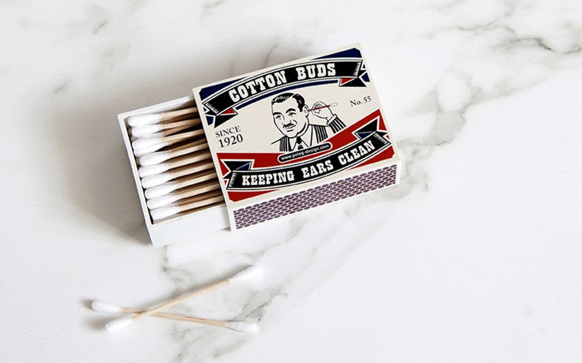 Peleg Design | Cotton Ear Joe - Cotton Buds Holder