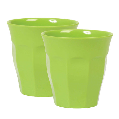 Rice DK Green Melamine Cups | Set of 2
