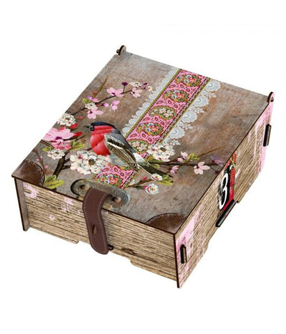 Miho 'Celebrity' Wooden Storage Box