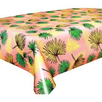 Kitsch Kitchen | Palm Trees Print Oilcloth