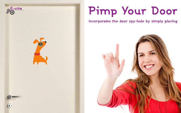 Pimp your Door Stickers | Dog
