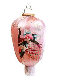 Kitsch Kitchen | Pink Peacock Lantern