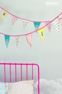Engel | 'Bibi' Cotton Flag Garland
