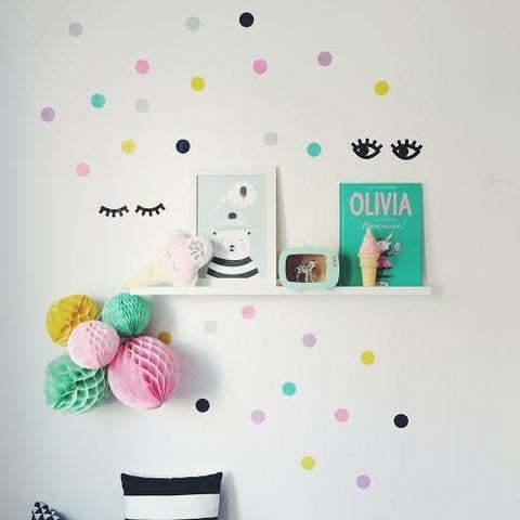 Poli & Oli | Wall Sticker Sleepy Eyes