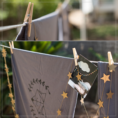 Tayo Studio | Gold Star Garland
