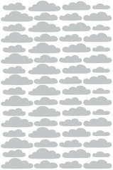 Tayo Studio | Grey Clouds Wall Stickers