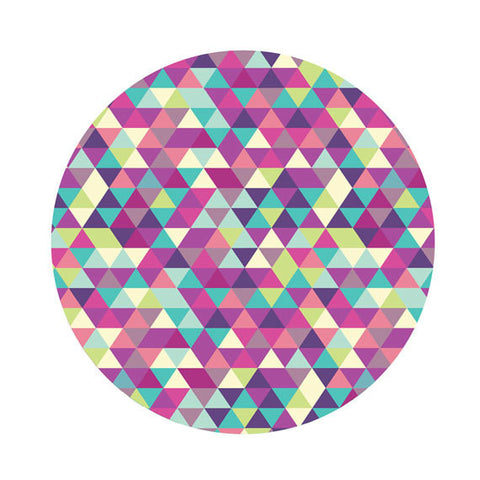 Tweelingen | Triangle Printed Wooden Trivet