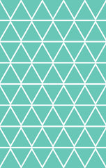 Wall Decal Mint Triangle Stickers | Tayo Studio