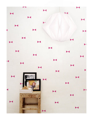 Wall Decal Fuchsia Triangle Stickers | Tayo Studio