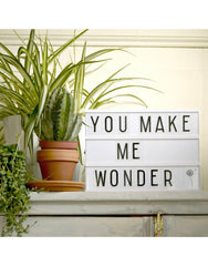 Little Lovely Company | Letter Light Box