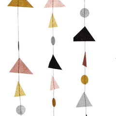 Madame Stoltz | Glitter Triangle mobile