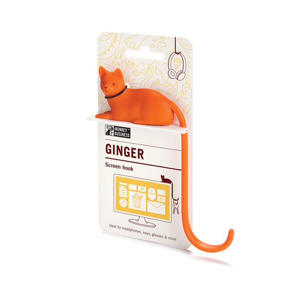 Monkey Business I Ginger- Screen Hook