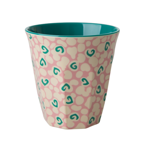 Rice DK | Melamine Cup Two Tone with Liquid Spot Print