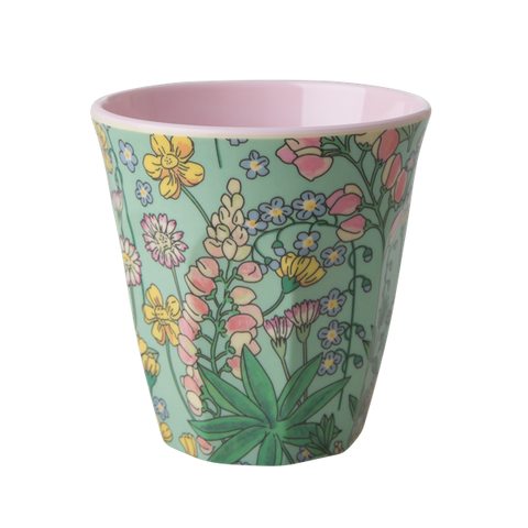 Rice DK | Melamine Cup Two Tone with Lupin Print