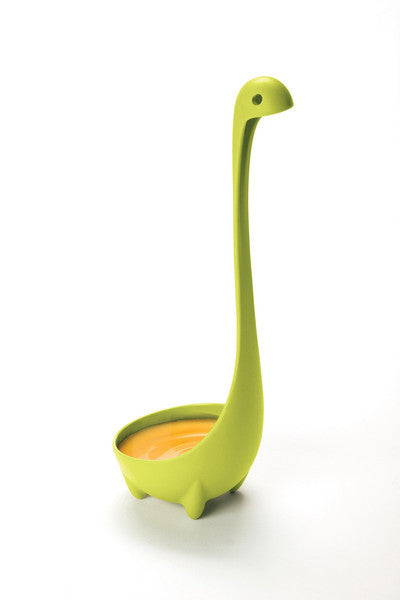Set of 3 Colorful Nessie Soup Ladles | Ototo