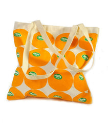 Barbara Shaw | Canvas Jaffa Orange Tote Bag