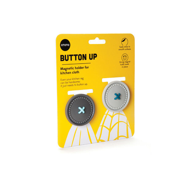 Ototo | Button Up Magnetic Holder for Kitchen Cloth