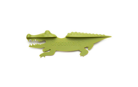 Peleg Design | Crocomark Crocodile Bookmark